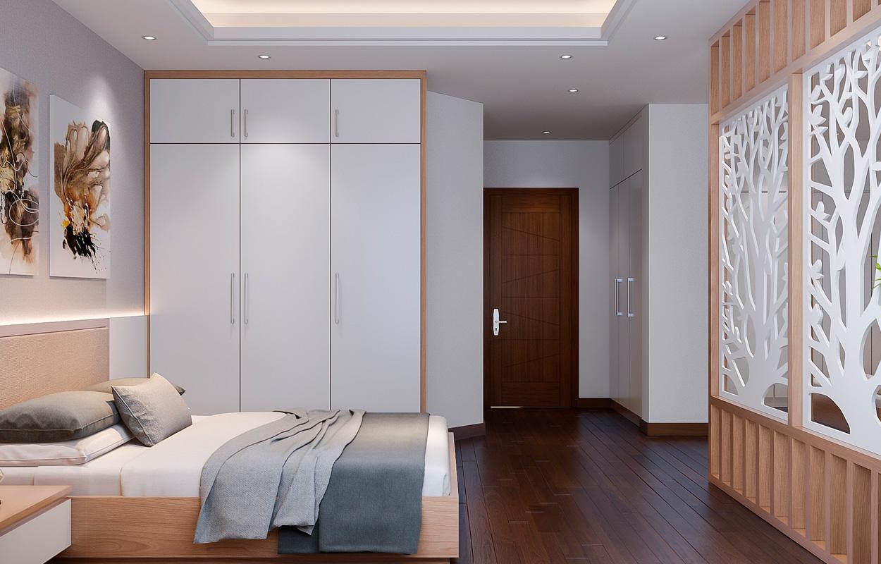 Modernos closets y paneles decorativos para una moderna habitación