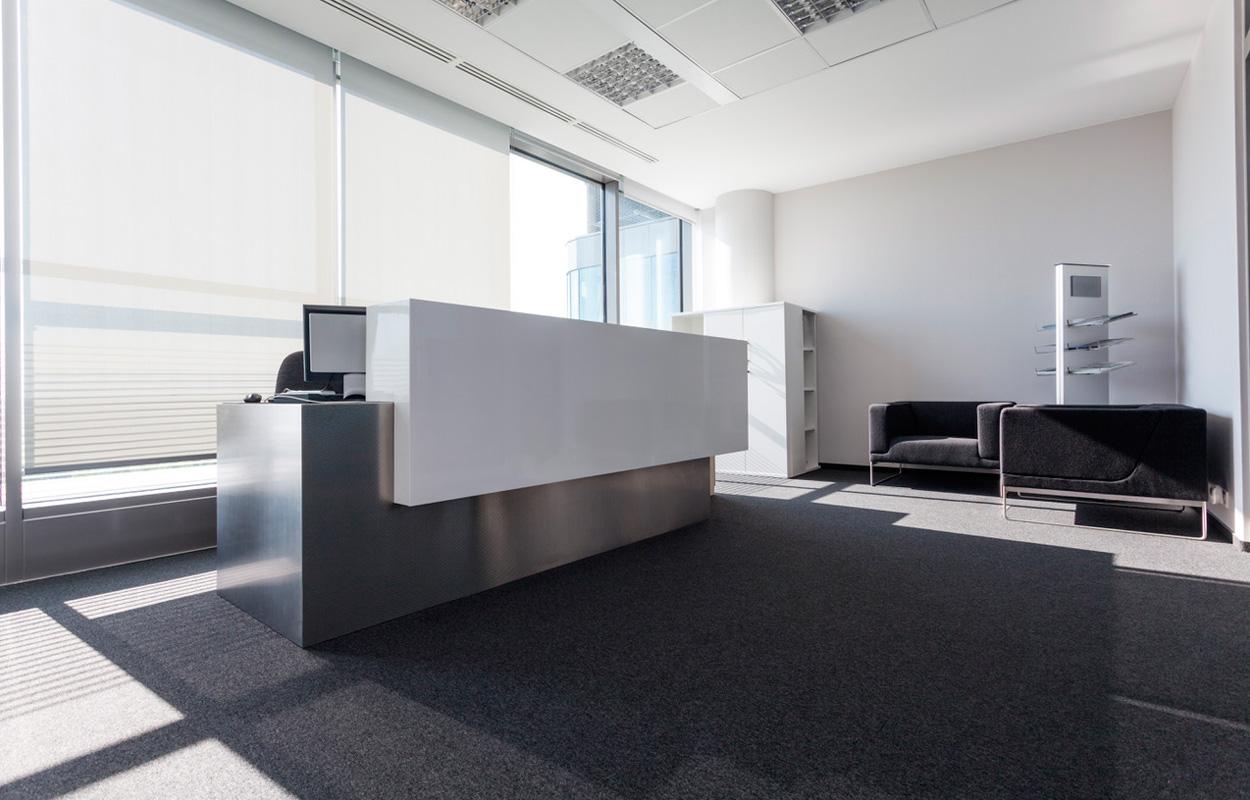 Muebles de recepción de oficinas de Mobelart