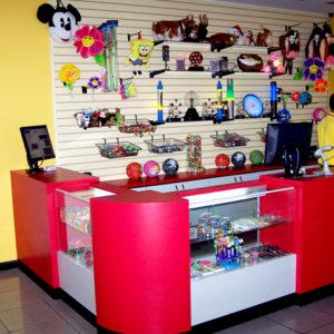 Exhibidores de productos