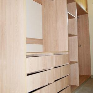 Closet funcional de madera