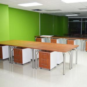Estaciones de trabajo sin division