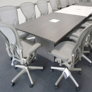 moderna mesa de conferencia