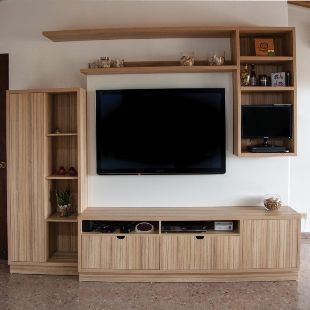 muebles para hogar y muebles de entretenimiento