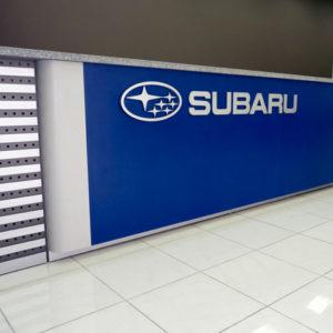 Recepción Subaru
